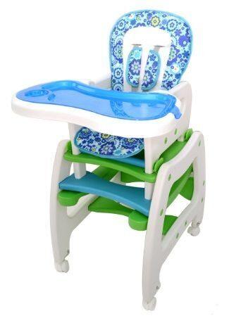 стульчик для кормления трансформер Forkiddy Active Comfort Blue 3 в 1